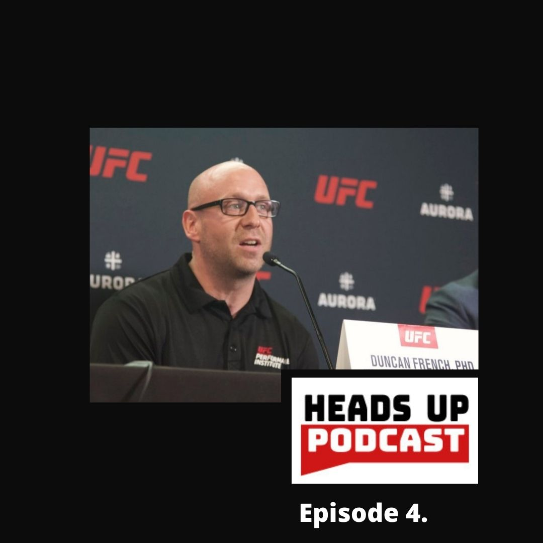 #4 Heads Up – Interview with Dr Duncan French